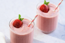 Perfect Strawberry Smoothie Cocktails Asian Style