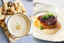 European international dishes Unique identity!