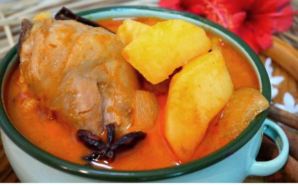 Massaman Chicken, Instant Curry Paste Recipe